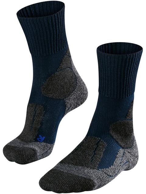 Falke TK1 Cool - Chaussettes Homme - gris/bleu